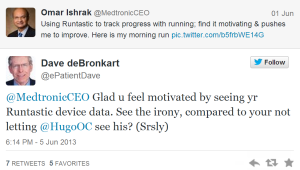 medtronic ceo two