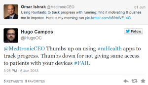 medtronic ceo